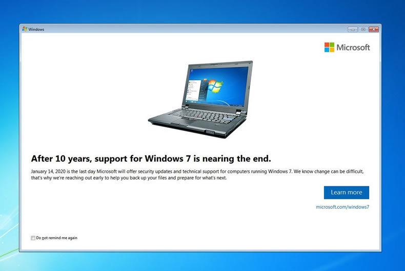Il 15 Gennaio 2020 è Terminato Il Supporto Per Windows 10